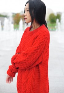 2301-Lina-Knitted-red-sweater-by-Hanneli-Mustaparta-754x5211