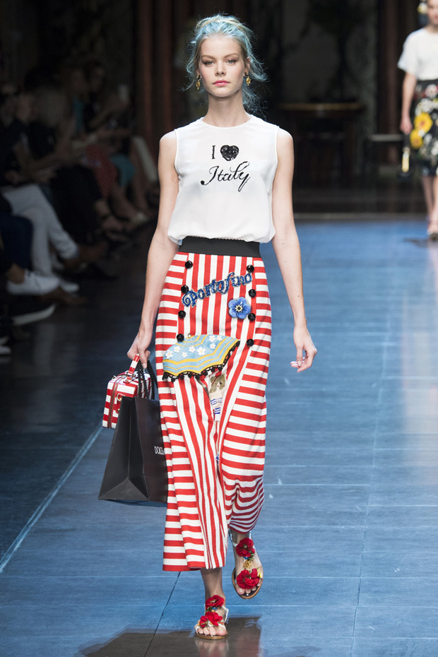 Colección primavera-verano 2016 de Dolce&Gabbana.